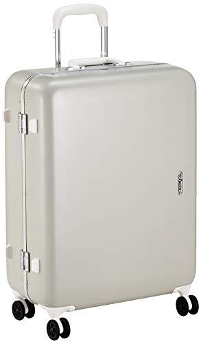 [サンコー] SERIES-R スーツケース セリエス 静音双輪キャスター ステッカー付 キャスターカバー付 59L 59 cm 4.8kg グレー