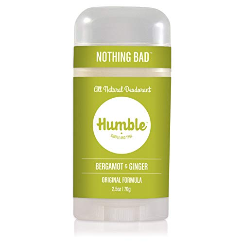 Humble Brands All Natural Aluminum Free Deodorant Stick for Women and Men, Lasts All Day, Safe, and...
