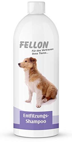 Fellon Entfilzungs Shampoo für Hunde | 1 Liter | Hundeshampoo | Löst verfilzungen sanft und...