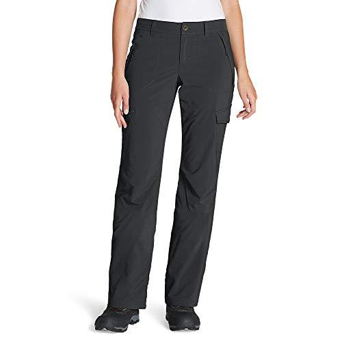 Eddie Bauer Women's Polar Fleece-Lined Pants, Gray Regular 10