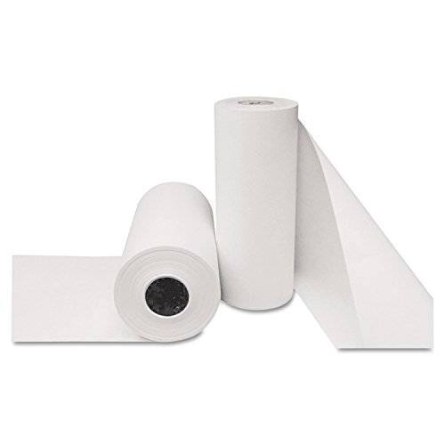 "Boardwalk B2440800 Butcher Paper 24"" x 800 ft, White Roll"