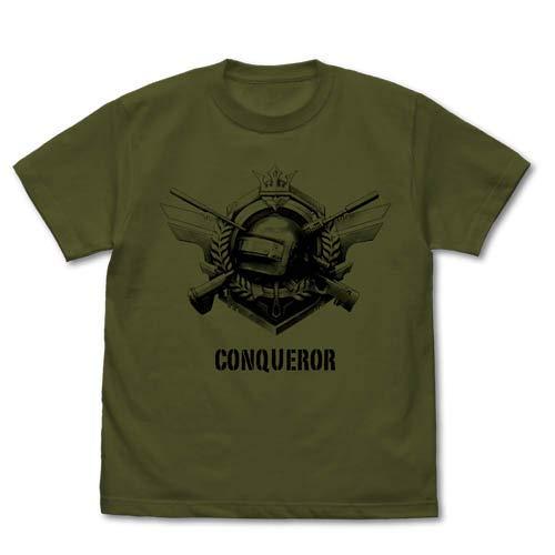 PLAYERUNKNOWN'S BATTLEGROUNDS PUBG 征服者 Tシャツ モス XLサイズ