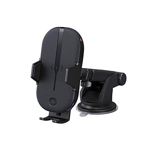 KENWOOD CAX-HL10Qi Soporte motorizado (automatizado) para Teléfono con Cargador Inteligente para Coche. Carga Rápida de hasta 15W. Compatible con Cualquier Dispositivo con Carga Inálambrica