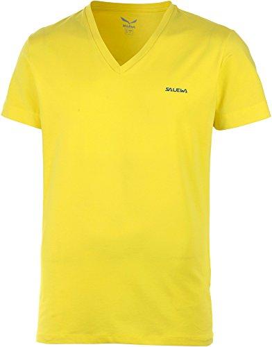 Salewa Chemise White Zombie cO m t-Shirt à Manches Courtes pour Homme XS Jaune/Noir - Motif Mimosa