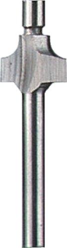 Dremel 612 Piloted Beading Router Bit, Gray