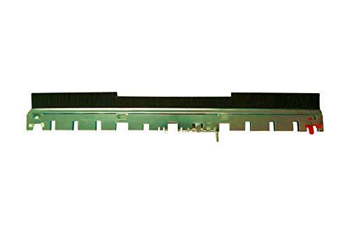 Hochwertige Frontbürste Bürstenstreifen vordere Bürste Kehrbürste passend für Vorwerk EB 350 EB 351 EB 351F