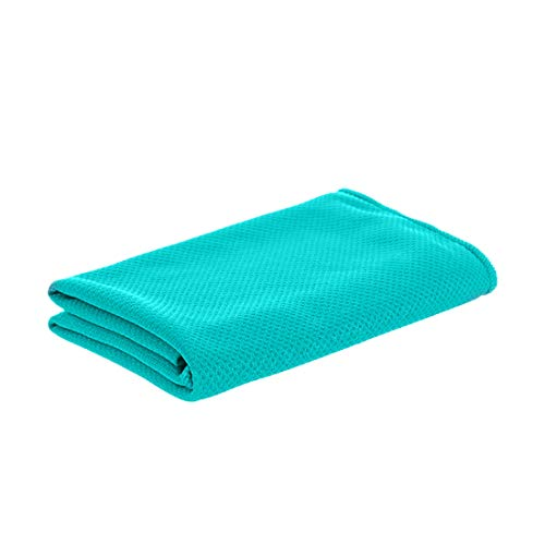 MINISO Instant Cooling Towel Workout, Gym, Fitness, Golf, Yoga, Camping, Hiking, Bowling, Travel, Outdoor Sports Towel for Cooling Relief (Mint Green)