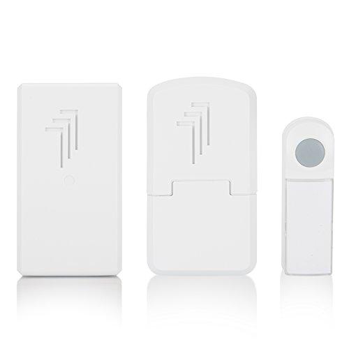 Elro draadloze deurbel met deurbel voor het stopcontact 1 x bel & 1 x draagbare & 1 x plug-in deurbel