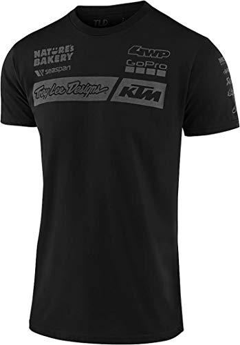 Troy Lee Designs T-Shirt KTM Team Schwarz Gr. L
