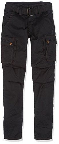 Bores siggle Pantalon de moto wachscot ton intérieur indéchirable, imperméable, noir, Taille 29