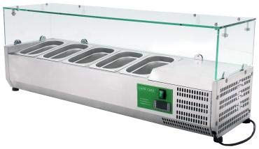 Cater-Cool CK1200TU Commercial Refrigerated Topping Unit – 5 x 1/4GN