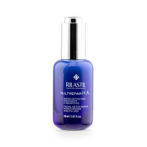 Rilastil Multirepair Serum HA - Anti Luz Azul, Antiedad y Antipolución - con Ácido Hialurónico - 30 ml