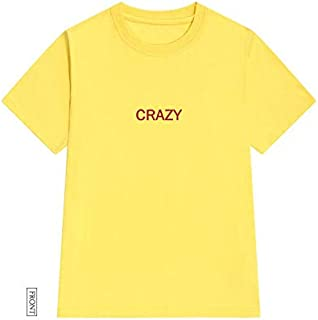 Crazy Red Print Women Tshirt Cotton Casual Funny T Shirt Gift 90S Lady