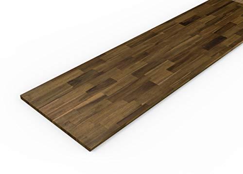 Interbuild Arbeitsplatten aus Akazienholz, 2200 x 635 x 26 mm, Braun,
