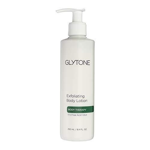 Glytone Exfoliating Body Lotion With 17.5 Free Acid Value Glycolic Acid, Keratosis Pilaris, KP, Smooths Rough & Bumpy Skin, Chicken Skin, Fragrance-Free, 8.4 oz.