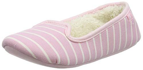 Tom Joule Dreama, Zapatillas de Estar por casa Mujer, Pink Cream Pink Cream Pink Stripes Cpnkstr, 36/37 EU