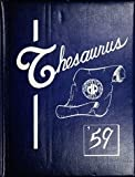 (Custom Reprint) Yearbook: 1959 Manchester West High School - Thesaurus Yearbook (Manchester, NH)