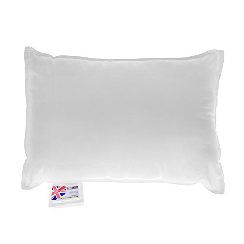 """HOMESCAPES Super Microfibre Cushion Pad 35 x 50 cm (14"""" x 20"""") Inner Insert Hypoallergenic Synthetic Cushion Filler Machine Washable"""
