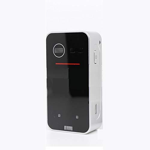 Maus-Tastaturprojektion Virtuelle Tastatur des Projektionslasers Bluetooth-Funkverbindung Mit Gestensteuerungsfunktion (Color : Black)