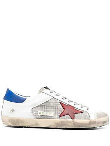 Golden Goose Luxury Fashion Uomo GMF00103F00111680853 Bianco Pelle Sneakers   Stagione Permanente
