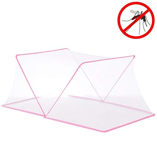 AIJIANG Mosquito Net For Babay Bed, Baby Travel Mosquito Nets Baby Folding Mosquito Net for Children Portable Breathable Net without Bottom