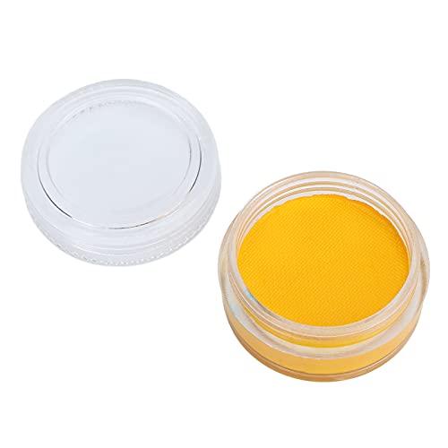 Pintura Corporal A Base De Agua, Maquillaje De Pintura Facial No Tóxico para Uso Doméstico para Fiestas De Cumpleaños(Tonto y002)