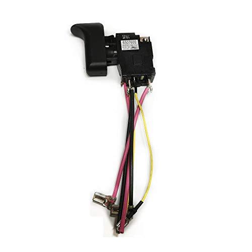 Varadyle Power Switch 6507600 for 650760-0 XRJ04 DJR186 Power Tool Parts