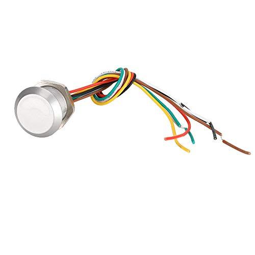 Tosuny Controlador de Acceso RFID, Lector de Control de Acceso a Prueba de Agua Wiegand26/34 es Compatible con Todos los Dispositivos de Control de Acceso en el Mercado(CARNÉ DE Identidad)