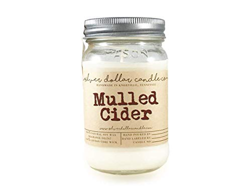 Silver Dollar Candle Co Fall Candles 8oz Mulled Cider Scented Candle 100 Soy Wax Scented Candle By Silver Dollar Candle Co Gift Ideas Dailymail