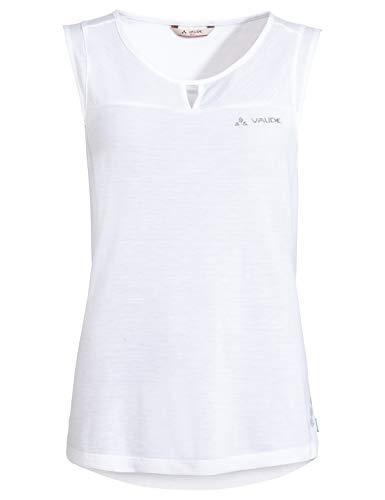 VAUDE Damen Top Women\'s Skomer Hiking Top, White, 38, 42230