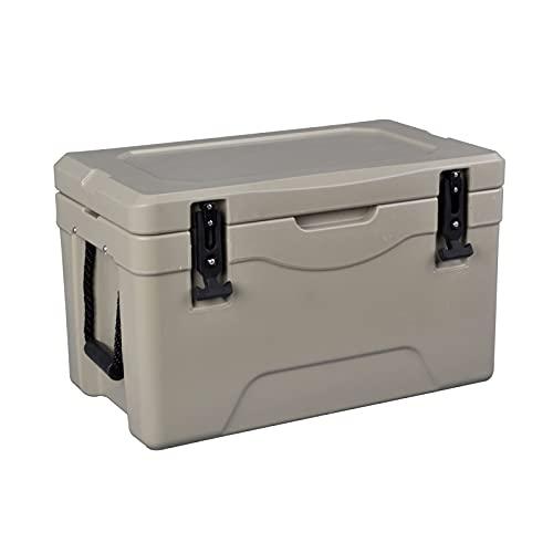 La caja de almacenamiento de hielo de hielo pesado con rotación portátil más fresco mantiene el hielo o el ideal caliente para las actividades al aire libre para acampar 28L / 25.4 cuarto de galón