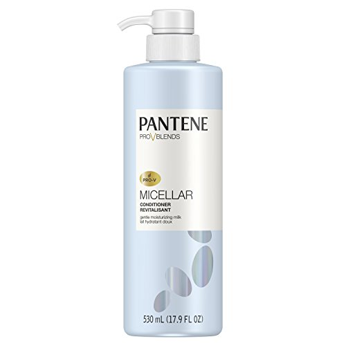 Pantene, Sulfate Free Conditioner, with Micellar Milk, Gentle Moisturizing Pro-V Blends, 17.9...