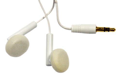 Media Express SF0322 Cuffia Auricolare Stereo Jack 3,5 mm per Smartphone e Mp3, Notebook, Tablet, Compatibile con audio ad alta risoluzione, Disponibile in Bianco o Nero