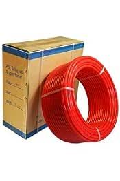 3 4 Pex Tubing W Oxygen Barrier For Baseboards Radiators 500ft Plumbing Hoses Amazon Com