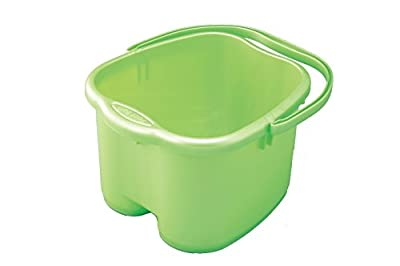 Inomata Green Foot Detox Massage Spa Bucket #0012