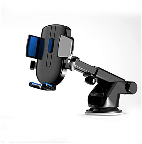 Tenedor de coche universal Soporte de teléfono móvil No soporte de montaje GPS magnético (Color : Dark Blue)