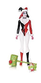 DC Collectibles Comics Designer Series  Amanda Conner Holiday Harley Quinn Action Figure