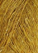 50g Donegal - Farbe: 11 - senf - Klassischer Donegal Tweed, Gesponnen und gefärbt nach Alter Tradition in Irland. - (Lager: V-BRR-F)
