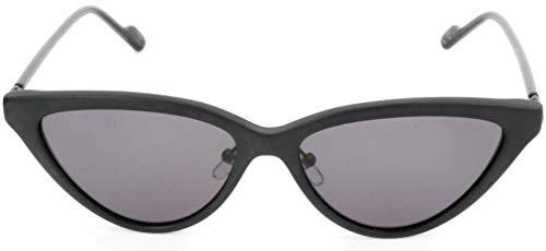 adidas Sonnenbrille AOK006 Cateye Sonnenbrille 55, Schwarz