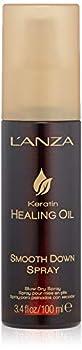L'ANZA Keratin Healing Oil Smooth Down Spray 3.4 Fl Oz