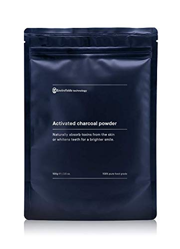 STEAM ACTIVATED CHARCOAL CARBON 100g - ULTRA FINE POWDER FOR TEETH, SOAP MAKING MEDICINAL