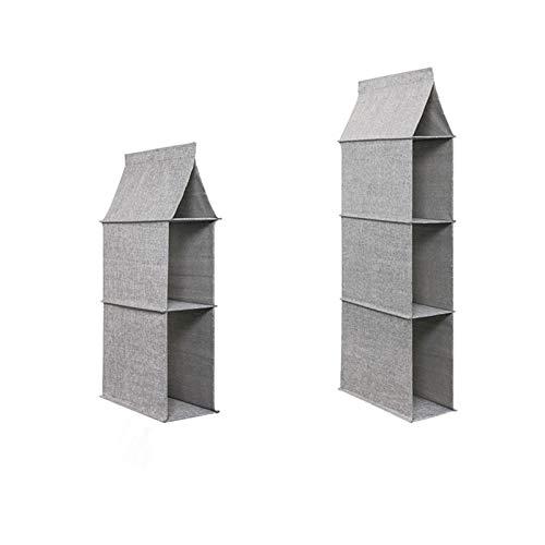 Aitaolian HOMEsn Bag Storage Hanging Bag Closet Bag Organizer, Wardrobe Storage Rack Storage Cabinet 2 Pack