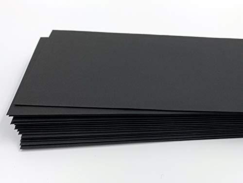 100 buste per lettera, nero, 220 x 110 mm, chiusura autoadesiva, Caribic d'IGEPA