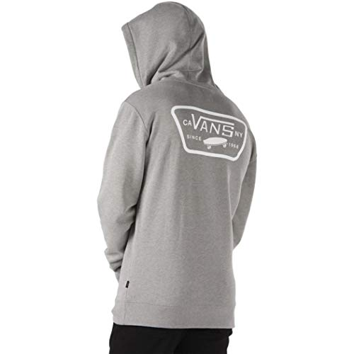 Vans Full Patched Po II Capucha, Gris (Cement Heather F), XX-Large para Hombre