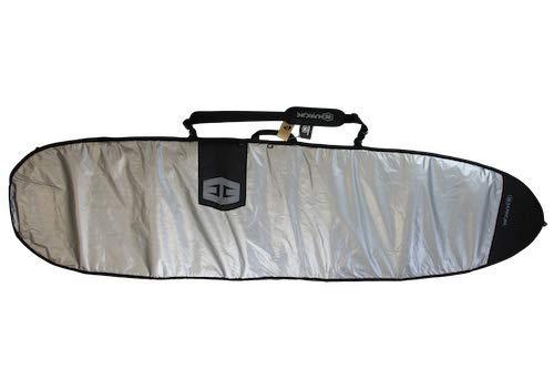 HURRICANE Bolsa para tabla de surf (polietileno, tamaño 7,6), color negro y gris