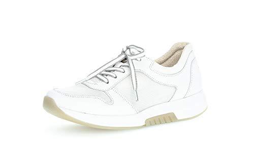 Gabor Derbys Rollingsoft - Pantalones para mujer, color Blanco, talla 35 EU