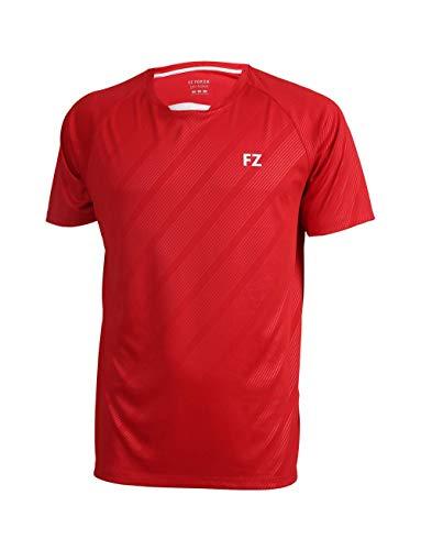 FZ Forza - Sport T-Shirt Hector - rot, für Herren - geeignet für Fitness, Running, Fußball, Squash, Badminton, Tennis etc. - 8
