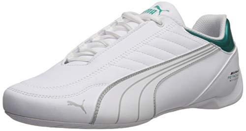 PUMA Kart Cat Petronas Sneaker Future Uomo Scarpe, bianco (Puma White-Mercedes Team Argento), 38.5 EU