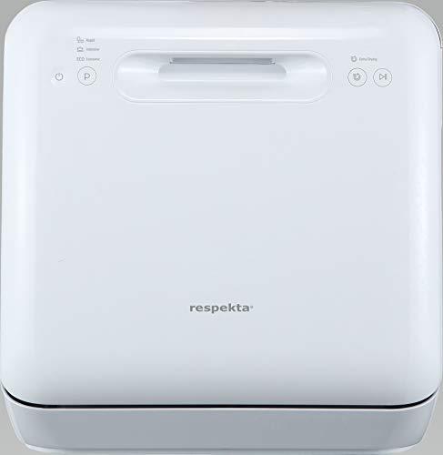 respekta GSPU GSPU42A - Mini lavastoviglie da incasso, 42 cm, display a LED, colore: Argento