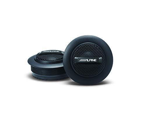 "Alpine S-S10TW, S Series 1"" Component Dome Tweeter - 240W"